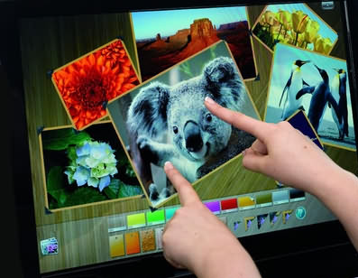 Touch Screens 80% lower cost than projector and whiteboard